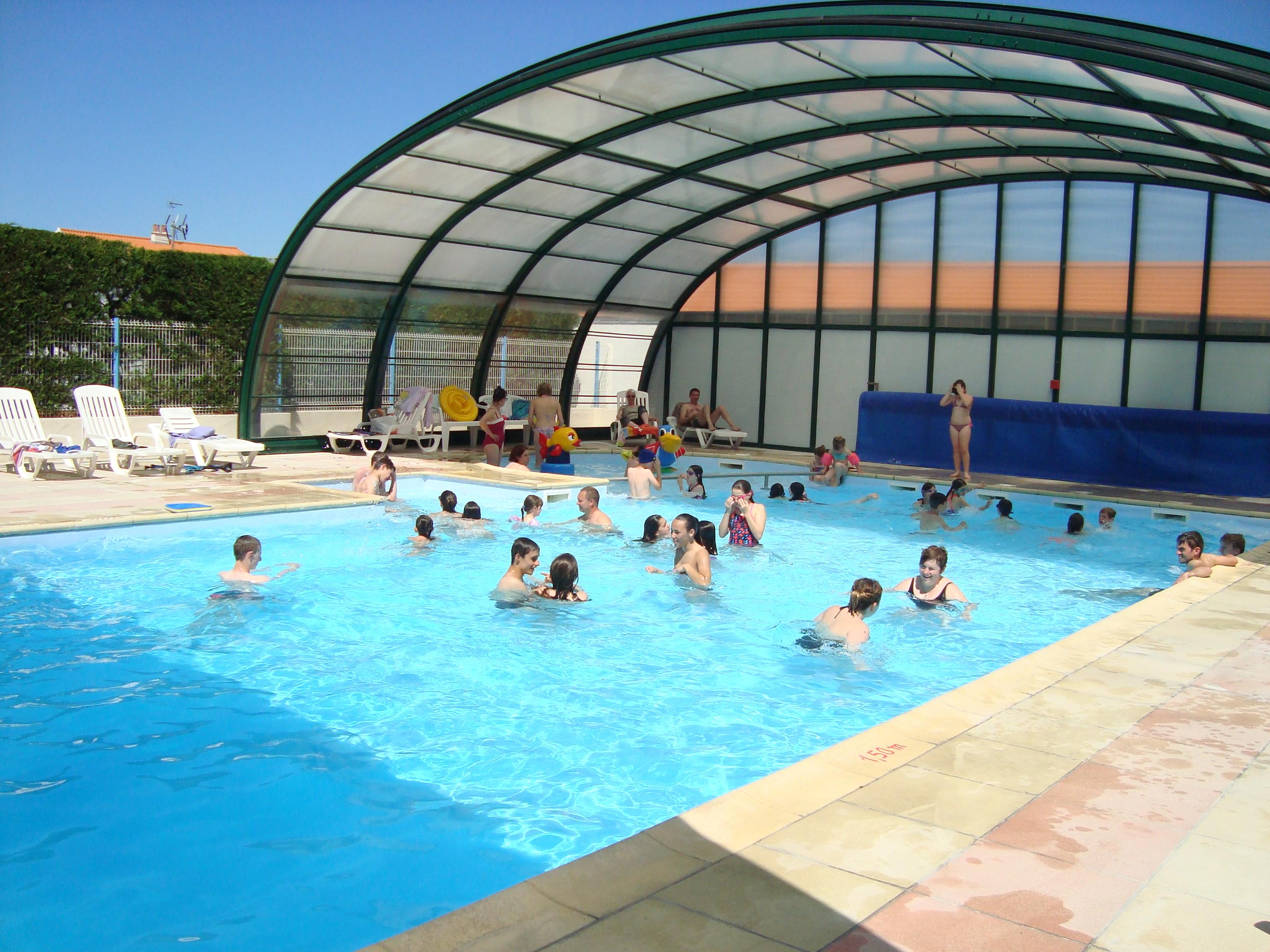 Good 3 Star Campsite Near Saint Jean De Monts   Indoor Pool Opposite Ile Du0027Yeu  And Close To Noirmoutier   Camping Du Pont Du0027Yeu   Notre Dame Des Monts