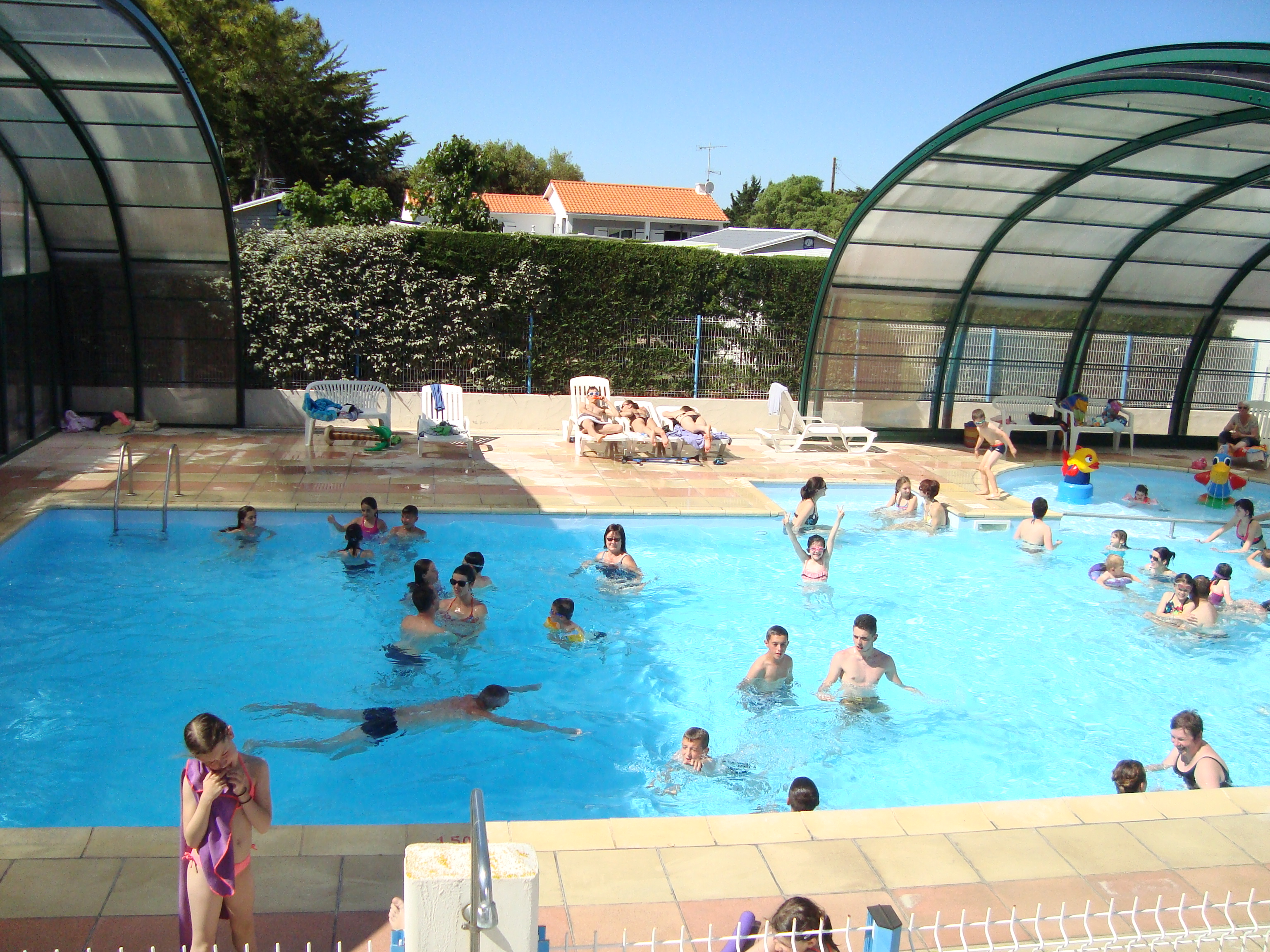 Beautiful Covered Heated Swimming Pool   3 Star Campsite Near Saint Jean De Monts   Indoor  Pool Opposite Ile Du0027Yeu And Close To Noirmoutier   Camping Du Pont Du0027Yeu ...